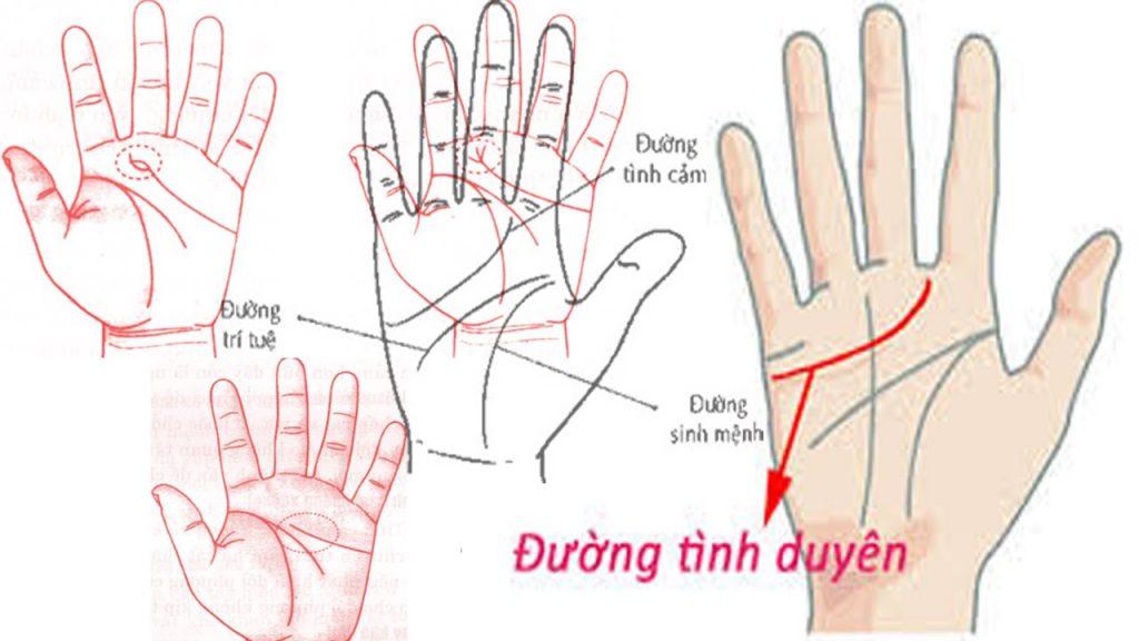 Xem chỉ tay có thể biết được vấn đề tình cảm của bạn ra sao